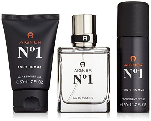 Etienne Aigner Number 1 Set homme/men, Eau de Toilette, Vaporisateur/Spray, Showergel, Deo, 1er Pack (1 x 150 ml)