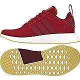 Adidas NMD_R2, Zapatillas de Deporte Hombre, Rojo (Buruni/Granat/Cortiz 000), 49 1/3 EU