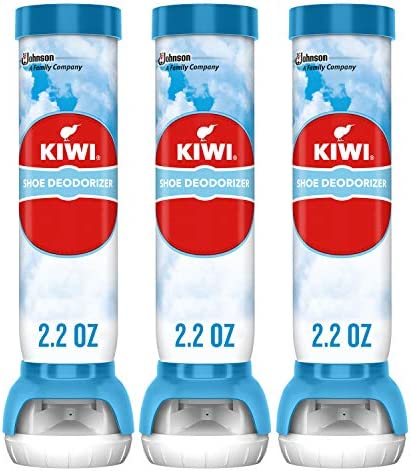 KIWI Sneaker and Shoe Deodorizer for Shoes Sneakers Leather and More Spray Bottle 2 2 Oz Pack product image