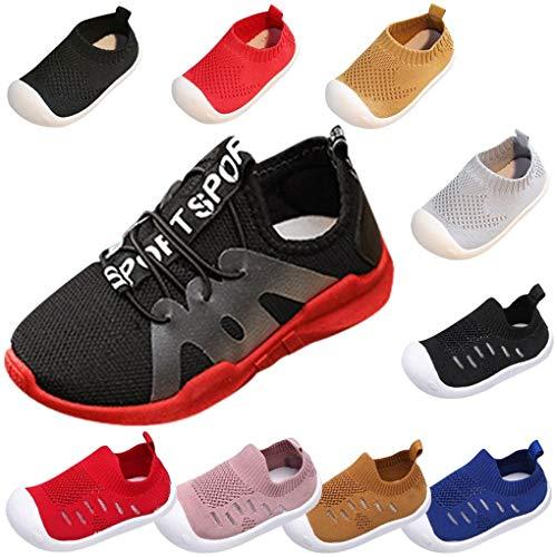 Sandalen für Kinder/Dorical Sommer Unisex Baby Jungen Mädchen Lauflernschuhe Fliegendes Weben Schuhe Mesh Atmungsaktiv Sportschuhe Freizeit Krabbelschuhe mit Weiche Sohle