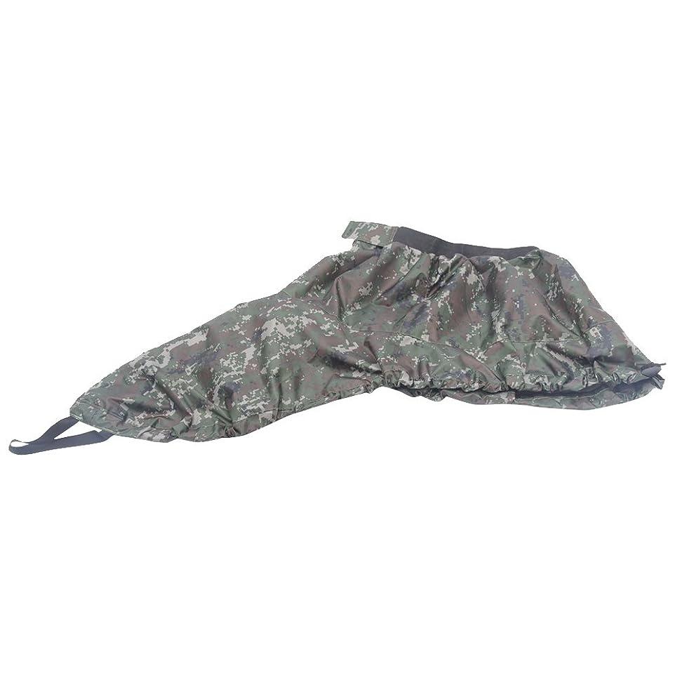 リフト鮫連続したFlameer 調節可能 カヤック スプレースカート サーフスプレースカート カバー 全3色選ぶ