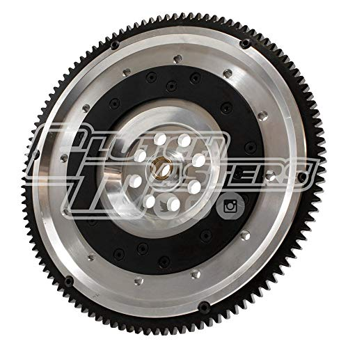 Clutch Masters FW-H2B-TDA Twin Disc Clutch Kit with Lightweight Aluminum Flywheel (Honda H Motor-B Trans 1985 - UP for 7.25)
