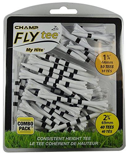 CHAMP Unisex-Adult 69mm Mein Hite Flytees Combo, schwarz/Weiß, ONE Size