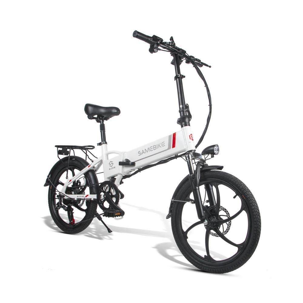SRXH - Bicicleta eléctrica plegable de 350 W con motor de 20 ...