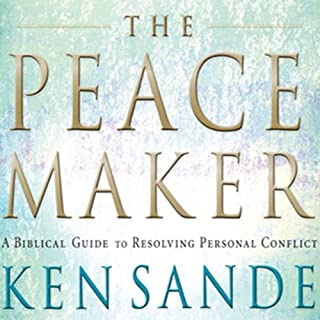 The Peacemaker     A Biblical Guide to Resolving Personal Conflict              Written by:                                                                                                                                 Ken Sande                               Narrated by:                                                                                                                                 Ken Sande                      Length: 4 hrs and 49 mins     2 ratings     Overall 4.0