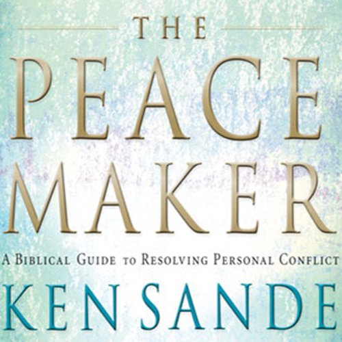 The Peacemaker audiobook cover art