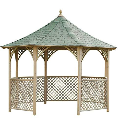 Jagram liveoutside Chopin–Schöne achteckig Holz Garten Pavillon Pavillon. Maße: H 316, DI 336