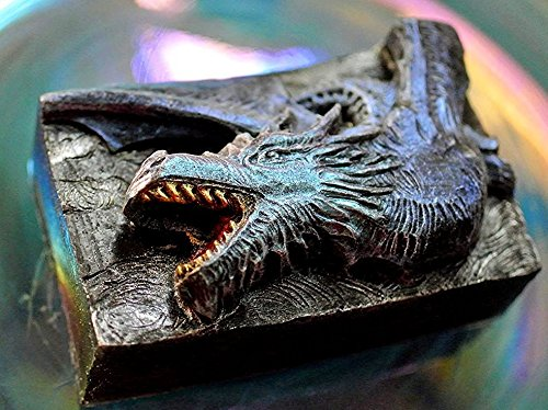 Jaws Silicone Mold SOAP Plaster Wax Resin Clay Dinosaur