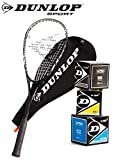 [page_title]-_Dunlop Squashset: Squashschläger BIOTEC LITE TI Silver Deluxe (1x Silver Deluxe Set inkl. 3 Bälle)