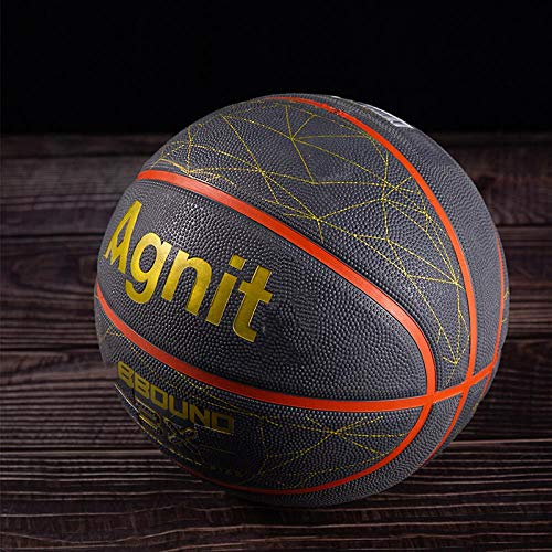 Lowest Price! SSLLPPAA Competition Training Basketball Three-Color Non-Slip Basketball Indoor and Ou...