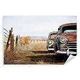 Postereck - 0007 - Rostige Oltimer, Alt Wagen Rost Kuba