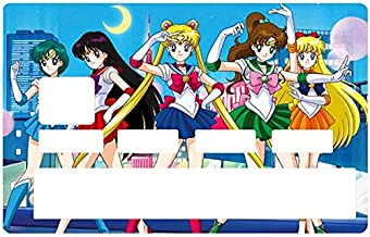 DECO-IDEES Credit Card Sticker - Bank Card, Bishōjo Senshi, Sailor Moon - Personalize Your Credit Card with These Removable Stickers