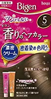 ホーユー ビゲン香りのヘアカラークリーム5 (ブラウン) ×3個