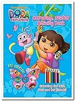 Dora the Explorer Colouring, Sticker Activity Pack