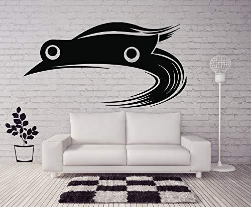 Tianpengyuanshuai waterdichte vinyl kaart muursticker echte racing art deco beweegbare muur decoratie woonkamer