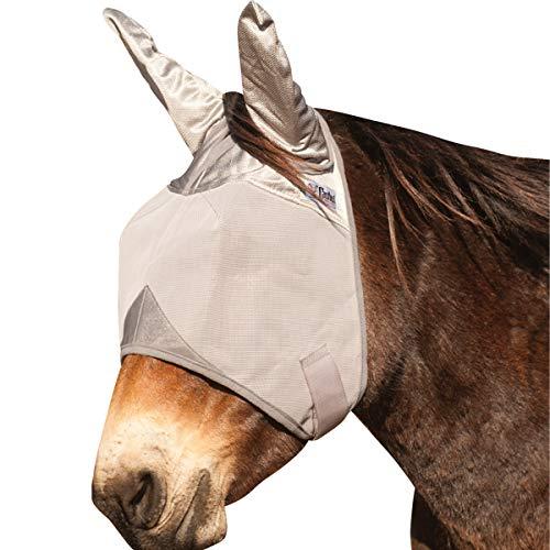 Cashel Crusader Fly Mask UV-Schutz Fliegenmaske mit Ohren Esel