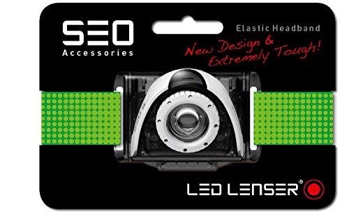 LED Lenser 373 Headband, Grün, 12.90 x 10.0 x 2.0 cm
