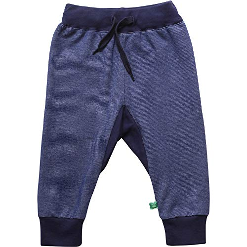 Fred'S World By Green Cotton Pants Pantalon, Bleu (Denim 019402601), 74 Mixte bébé