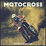 Motocross 2022 Calendar: Official Motorcycle Calendar 2022 16 Months