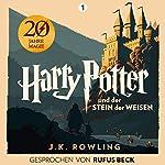 Harry Potter und der Stein der Weisen - Gesprochen von Rufus Beck     Harry Potter 1              Autor:                                                                                                                                 J.K. Rowling                               Sprecher:                                                                                                                                 Rufus Beck                      Spieldauer: 9 Std. und 52 Min.     7.618 Bewertungen     Gesamt 4,9