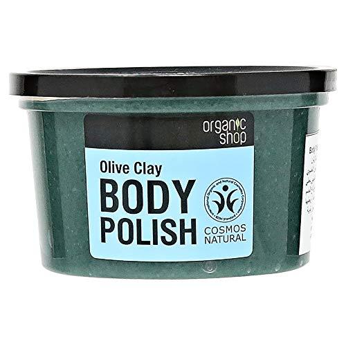 Organic Shop Olive Clay Body Polish, 250 ml