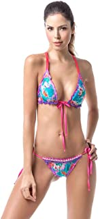 Womens Bikini Swimsuit Hand Made Swimwear Back Details (Mix and Match, Top and Bottom Sold Separately)