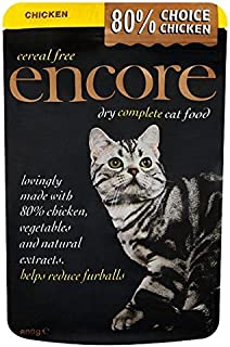 ENCORE Cat Dry Complete Food Chicken 800g (Pack of 6)