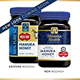 Manuka Health - MGO 400+ Manuka Honey, 100% Pure New Zealand Honey,...