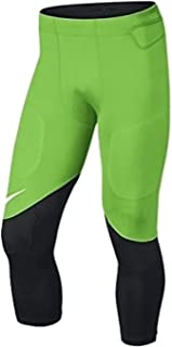 Men's Vapor Speed Football Pants 724352-313 Action Green Black White - 2XL