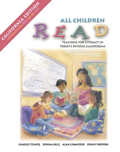 All Children Read, CA Edition (Book Alone)