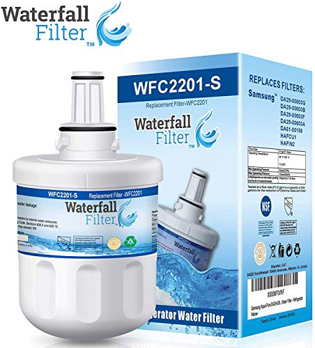 Waterfall Filter - Refrigerator Water Filter Compatible with...