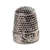 #N/A ピンニードルシルバー用金属指ぬき指縫製グリップシールドプロテクター