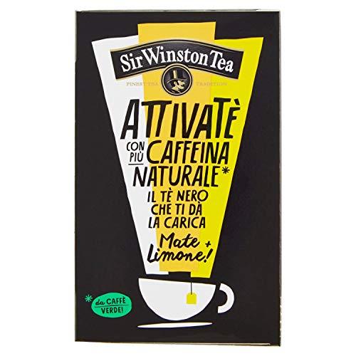 Sir Winston Tea Tea Attivate Nero Mate E Limone, 36g
