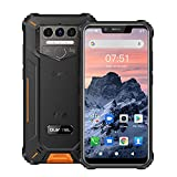OUKITEL WP9 6GB + 128GB Teléfono Móvil Resistente Octa-Core Mediatek P60 5.86 Pulgadas 16MP Cámara Triple Trasera, 8000mAh móvil Libre Android 10, IP68 Telefono Antigolpe 4G Dual SIM, OTG, NFC, GPS