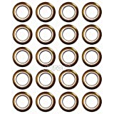 Selling Wonderful 1-9/16-Inch Inner Diameter Plastic Curtain Grommets 20-Pack (Light Brown)
