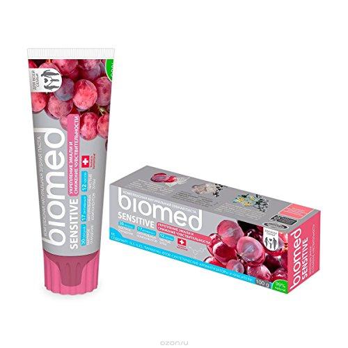 biomed Sensitive fluoridfreie Zahnpasta gegen empfindliche Zähne mit 99% natürlichen Inhaltsstoffen