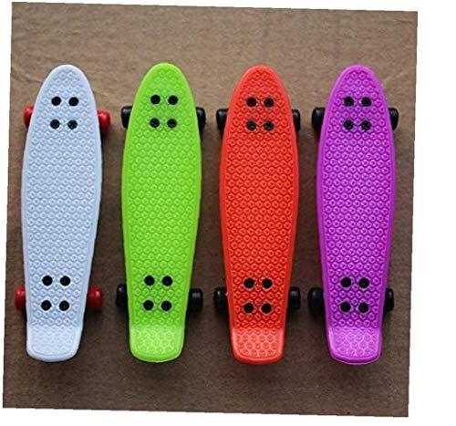 1 tabla de dedo, monopatín niño juguete para niños Diapasones (color aleatorio).