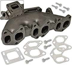 Cast Iron Turbo Exhaust Manifold With 38Mm Wastegate T3 T3/T4 For VwVr6 12V 2.8L Mk2 Mk3 Mk4 Engine