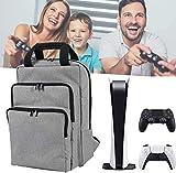 Fbewan Sac à Dos Travel Carry Backpack pour Console PS5 Et Accessoires...