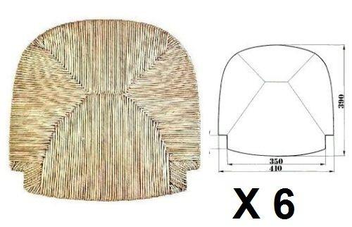 Sedute impagliate (mod.G2000) Ricambi per sedie [Set di 6]