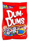 DUM DUMS Lollipops, Variety Flavor Mix, 200 Count Bag