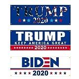 選挙旗、19.69X59.06in大統領選挙のためのアメリカ2020年旗、知事旗屋内屋外バナーアメリカ旗ホームガーデンヤード車の装飾