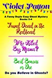 A Fanny Doyle Cozy Ghost Mystery Box Set Books 2-4: Found Dead in the Redhead, Who Killed Big Mama?, Best Bonsai or Die (English Edition)