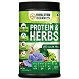 Himalayan Organics Protein & Herbs, Whey Protein with Green Coffee Beans Extract, Omega