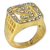 Bristol Novelty BA878 Big Daddy Ring, Mens, One Size