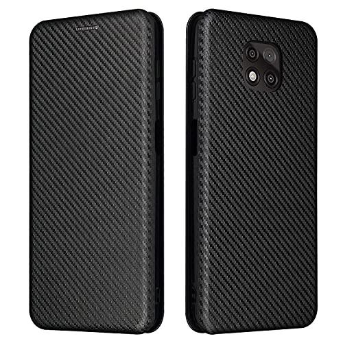 Tapa de la caja de la caja del teléfono Para Motorola Moto G Power 2021 Case, Fibra de carbono de lujo PU y Funda Híbrida TPU PROTECTORIA CUBIERTA A prueba de choques a prueba de golpes para Motorola