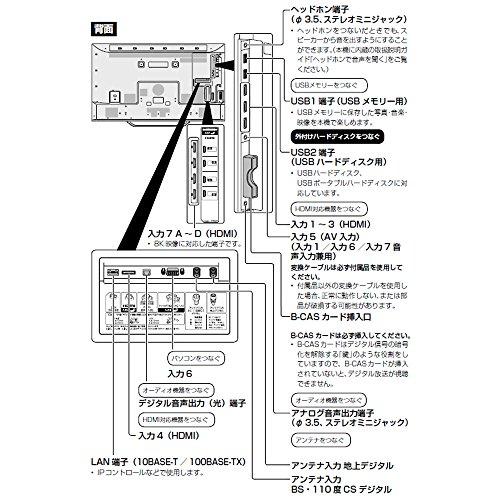 『シャープ 70V型 液晶 テレビ AQUOS LC-70X500 8K 2017年モデル』のトップ画像