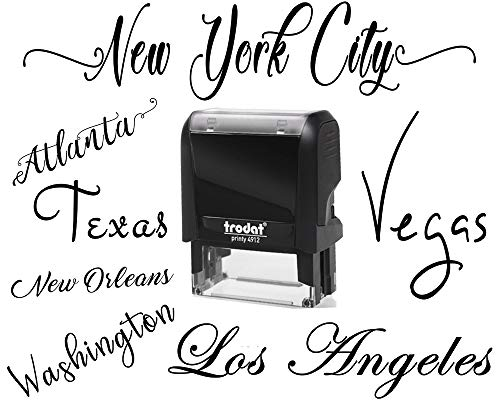 10+ Fonts - Signature Stamp Customizable Personalized Custom Adult Name Self Inking Stamp One Line Custom Rubber Stamp RN Nurse Teacher Stamper Self Inking Personalized Self-Ink Stamp Name Stamp