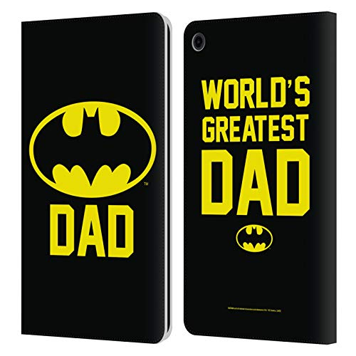 Head Case Designs - Funda de piel con tapa para Amazon Fire, diseño de Batman DC Comics
