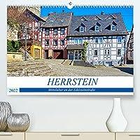 Herrstein - Mittelalter an der Edelsteinstrasse (Premium, hochwertiger DIN A2 Wandkalender 2022, Kunstdruck in Hochglanz): Spaziergang durch das mittelalterliche Herrstein (Monatskalender, 14 Seiten )